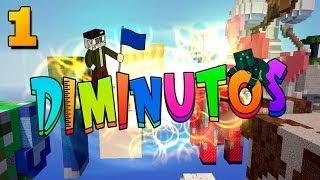 ME SIENTO PEQUEÑO!! #DIMINUTOS | Episodio 1 | Minecraft Supervivencia