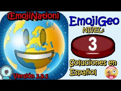 EmojiGeo desde EmojiNation | Soluciones Nivel 3 Español