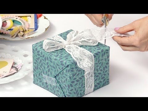 How To Wrap Gifts With Flair And Elegance | Maggie Holmes