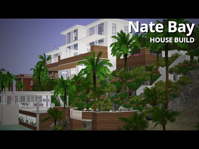 The Sims 3 House Building - Nate Bay (Part 2 of 2) - Aluna Island