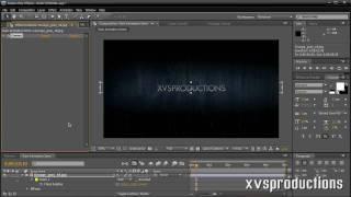 AE: dass Dunkle Sturm Intro-Animation [Projekt-Dateien Enthalten]