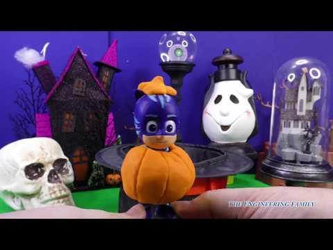SPOOKY Halloween Potion Surprise with PJ Masks + Trolls + Powerpuff Girls  Toys