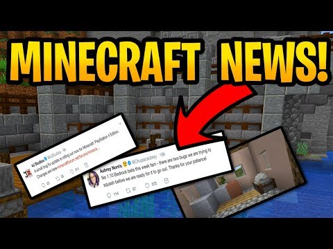 Minecraft 1.9 & 1.14 New Release Date? 1.10 Beta Details & PS4 Console Update 1.85 Out Now! thumbnail