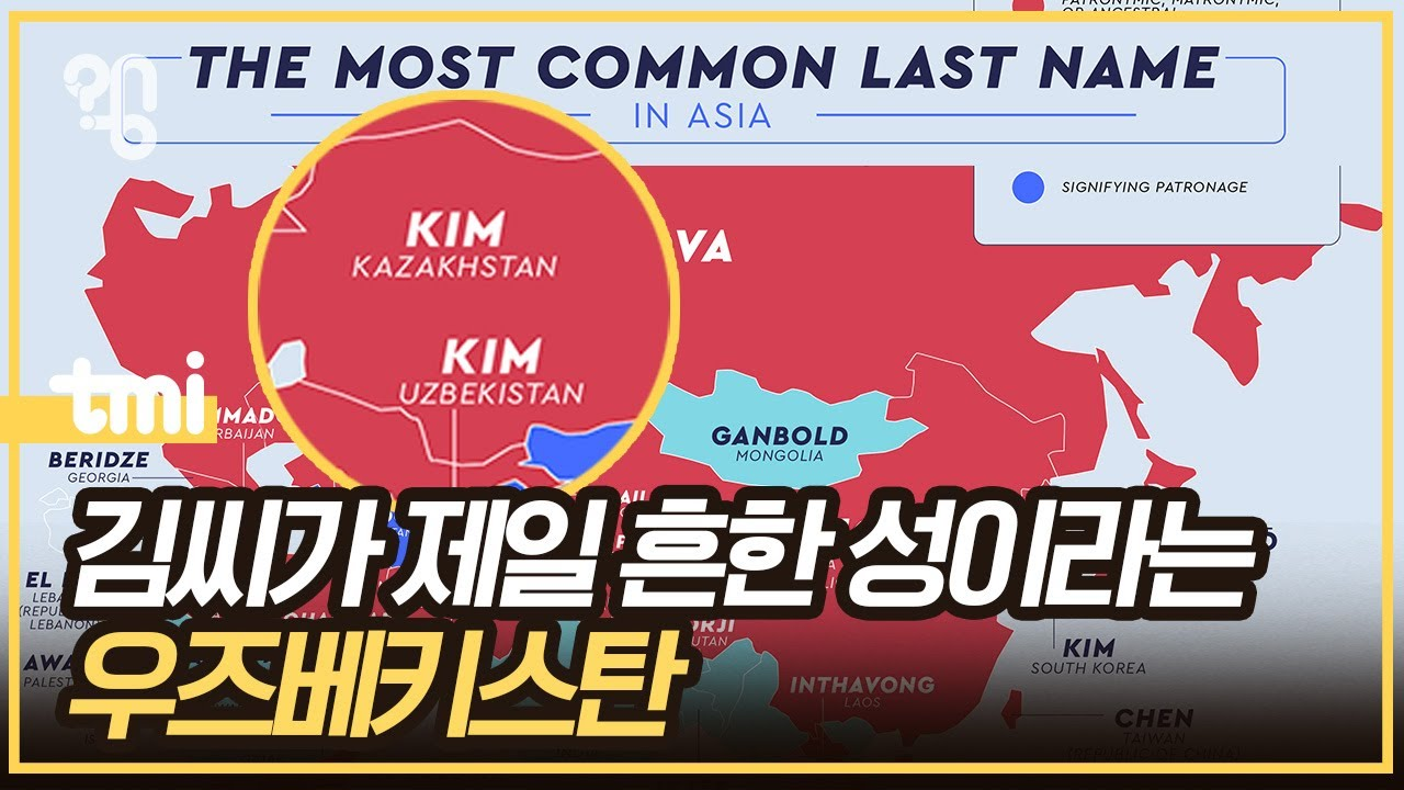 우즈베키스탄에 김씨가 많은 이유