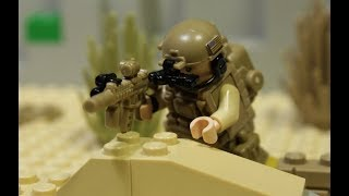 LEGO ZOMBIE APOCALYPSE! Navy Seals vs Zombies! lego film part 2
