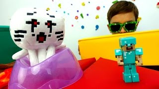 #Майнкрафт видео: экзамен для Стива! Как хорошо ты знаешь Minecraft? Мультики Майнкрафт