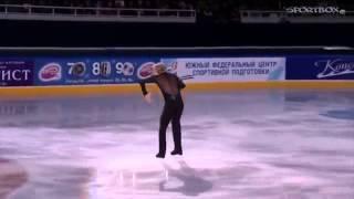 Евгений Плющенко - Я счастливый (Григорий Лепс). Чемпионат России 2015 Показательные выступления