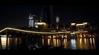 Dubai downtown, Burj Khalifa, and Dubai fountain 4K (Test Sony A7SII)