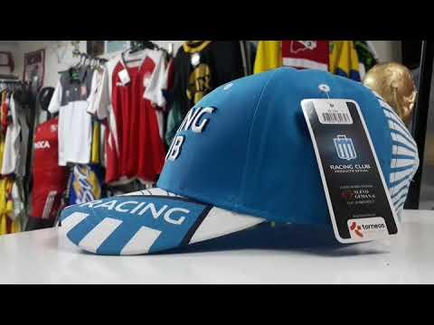Gorra Racing Club de Argentina RC256 - YouTube 1aa5e8df32d