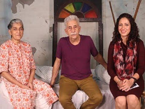 Naseeruddin Shah and Ratna Pathak Shah On Family Matters with Priyanka Sinha Jha | SHOWSHA