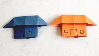 How to Make a Paper Home, House   Kids Paper Arts and Crafts