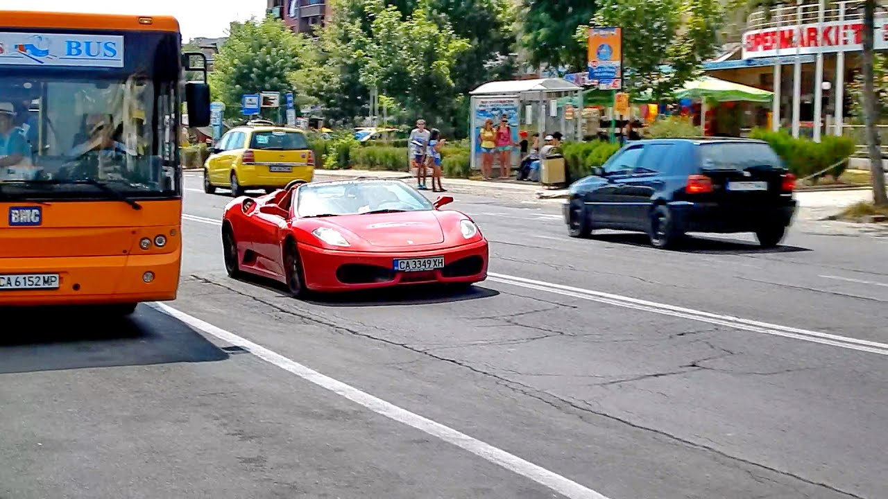 Ferrari F430 Spider In Sunny Beach. All Cars