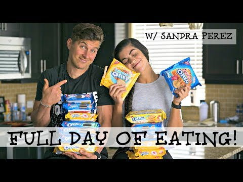 Day of Eating with Sandra Perez