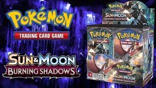 Pokemon Opening: Burning Shadows Booster Box!