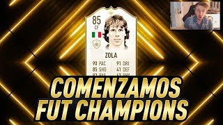 FIFA 19 BABY ZOLA Review En Resumen Fut Champions - Vale La Pena ? No Loss Glitch Al Final