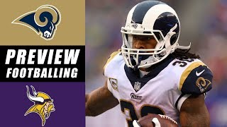 Rams vs Vikings Game of the Week Predictions