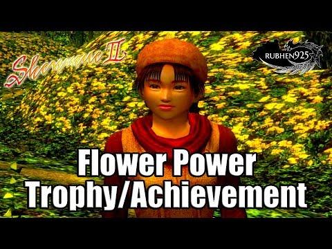 SHENMUE 2 HD REMASTER - Flower Power Trophy/Achievement Guide