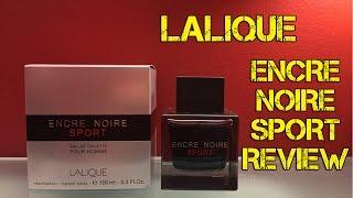 Lalique Encre Noire Sport Review | FRAGRANCE REVIEW
