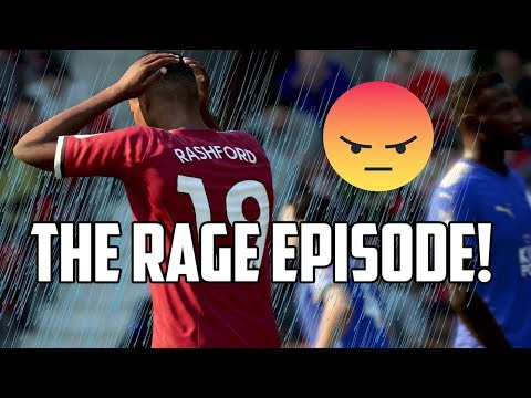 FIFA 18 Manchester United Career Mode #3 - THE RAGE EPISODE!