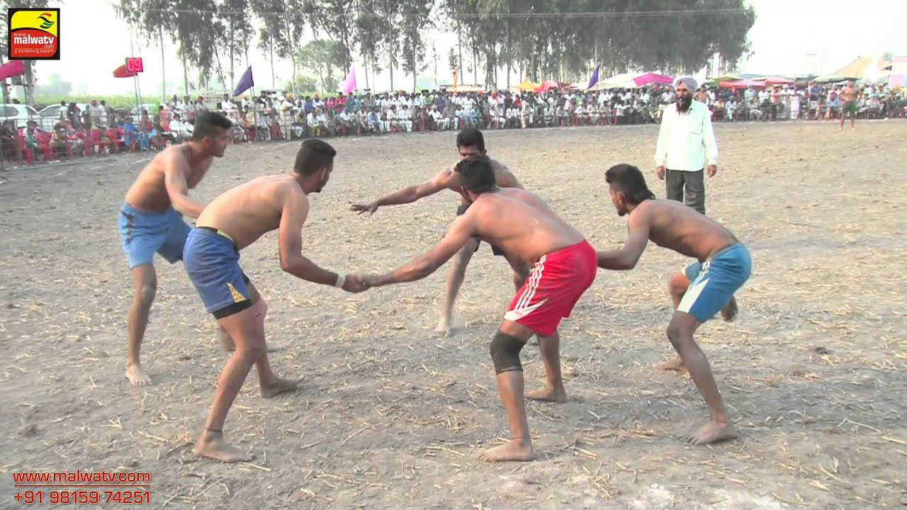 BAL (Ferozepur) || KABADDI TOURNAMENT - 2015 || BOYS FINAL MATCH ||