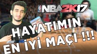 NBA 2K17 HAYATIMIN EN İYİ MAÇI... İNANILMAZ, NEFES KESEN SON TOP !!! MyTEAM #3
