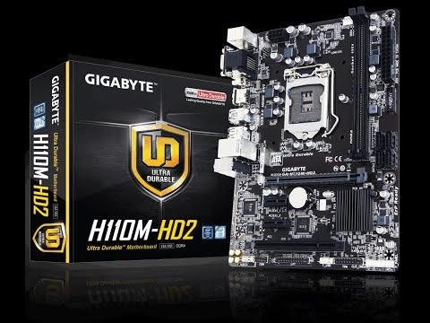 Маленький нюанс при прошивке BIOS H110M HD2