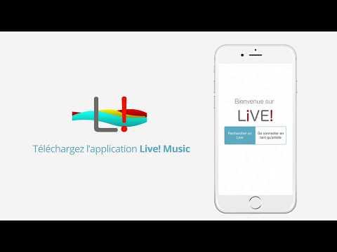 Live! Music App - Trouvez le concert parfait