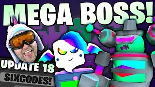 GUARDIAN MEGA BOSS & CRATE ! NEW QUESTS ! OP SECRET NEW CODES 👻 Roblox Ghost Simulator Update 18