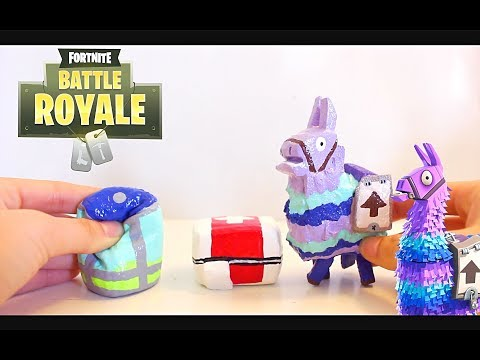 DIY FORTNITE SQUISHIES