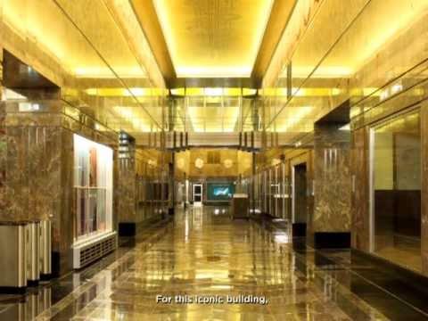 Empire State Building Lobby Restoration Honor Award Youtube