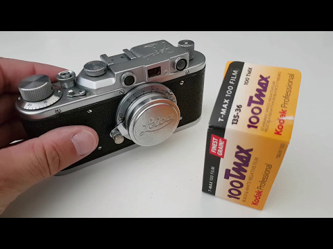 How to load a Zorki 1, Leica II or Leica III with extended film leader