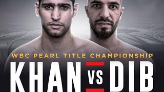 AMIR KHAN VS BILLY DIB: JULY 12TH: W.T.F!!!!
