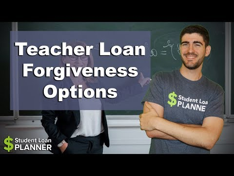 Teacher Student Loan Forgiveness Options | Student Loan Planner