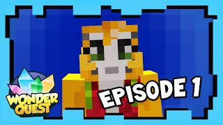 Wonder Quest - STAMPY'S NEW MINECRAFT  ADVENTURE- Episode 1 | Stampylonghead aka Stampy Cat