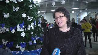 2019-12-20 г. Брест. Елка для детей с ОПФР. Новости на Буг-ТВ. #бугтв