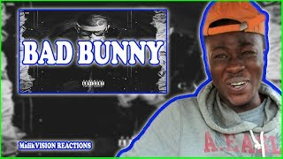 BAD BUNNY REACTION! Bad Bunny - Vamos Pa La Calle [Audio Oficial] | MalikVISION REACTS TO Bad Bunny