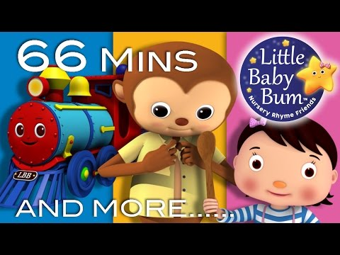 Thumbnail: Nursery Rhymes Compilation | Our Most Popular Videos! | 66 Mins from LittleBabyBum!