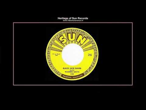 (1956) Sun 250-A ''Black Jack David'' Warren Smith