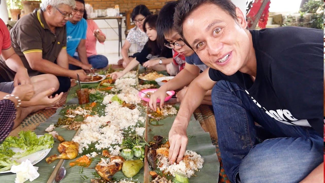 The Ultimate Indonesian Food Day Trip  HUGE Nasi Liwet