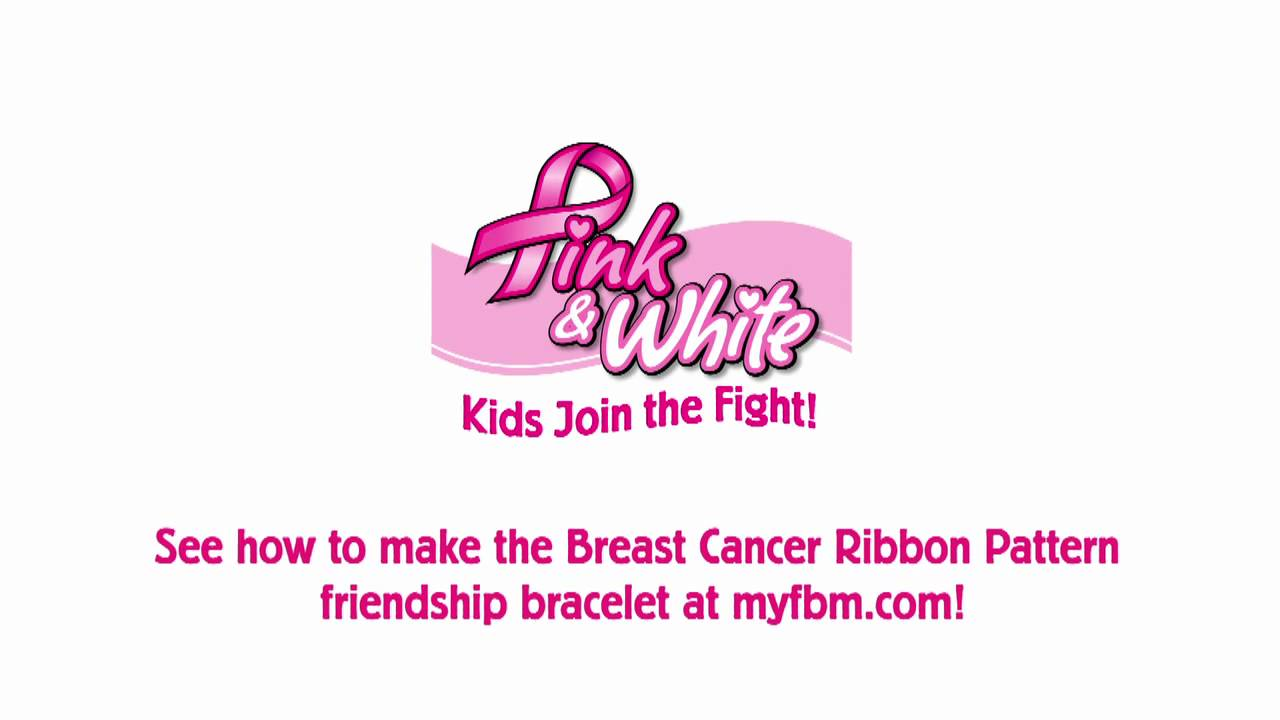 833c8bae9d6297 Kids Join The Fight against Breast Cancer with friendship bracelets ...