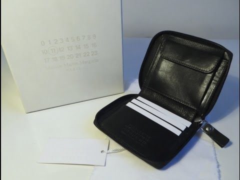 Cheap Pay With Visa Maison Margiela Leather Wallet With Credit Card Cheap Prices 2018 Sale Online jp09lyIGy