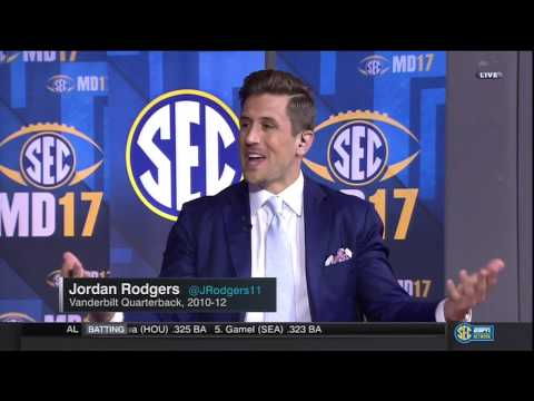 SECMD17: Spears, McElroy and Rodgers talk Tennessee