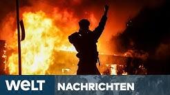 WELT NEWS IM STREAM: USA zerrissen zwischen Jubel und Wut