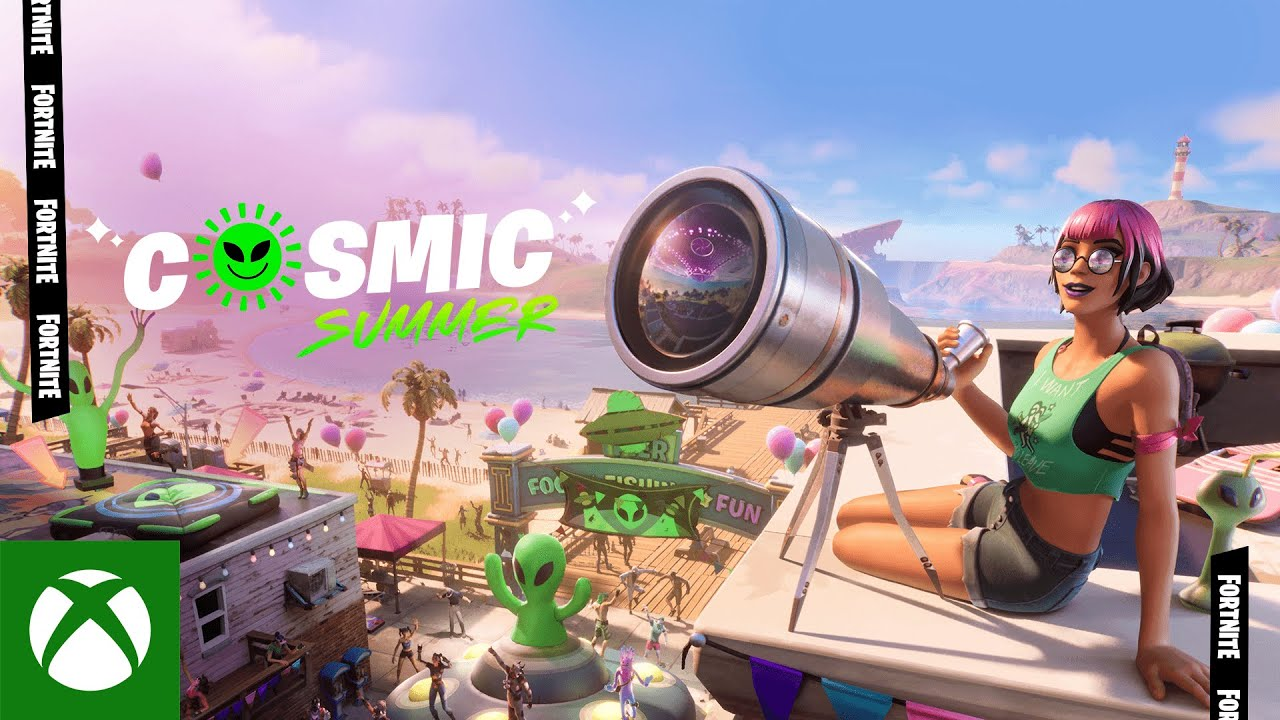 Cosmic Summer Comes To The Fortnite Island