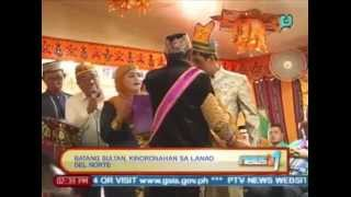 News@1: Batang sultan, kinoronahan sa Lanao Del Norte [April 23, 2014]