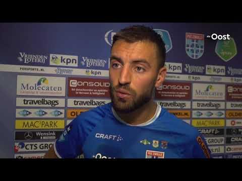 PEC Zwolle verliest in eigen huis van Vitesse door twee treffers Matavz