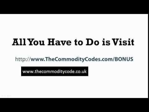 The Commodity Code Bonus - Best Commodity Code Bonus www.thecommoditycode.co.uk