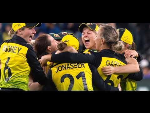 India V Australia | Epic Montage Of The ICC Women's T20 World Cup 2020 Final