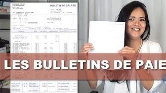LES BULLETINS DE PAIE - TUTOLIFE
