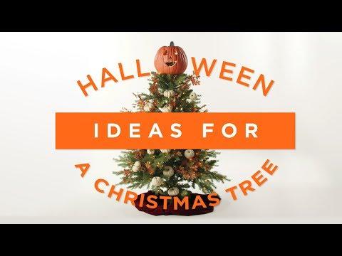 DIY Halloween Ideas for your Christmas Tree | QVC